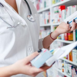 Medicinal e-liquid in pharmacy