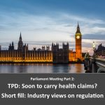 UK Parliament meetings on Vaping