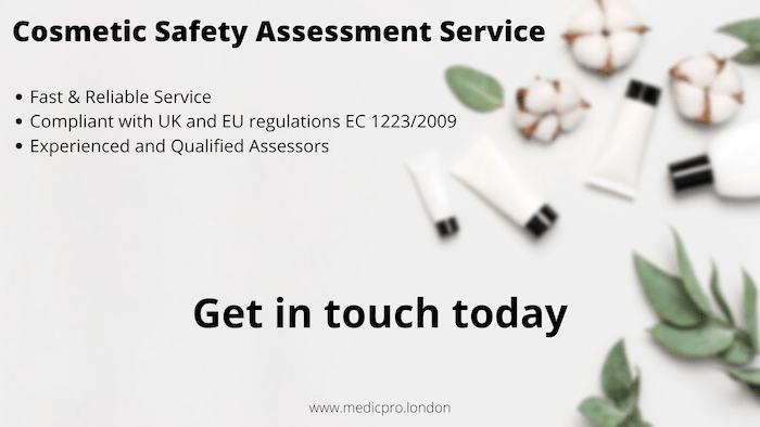 Cosmetic Safety Assessment Service