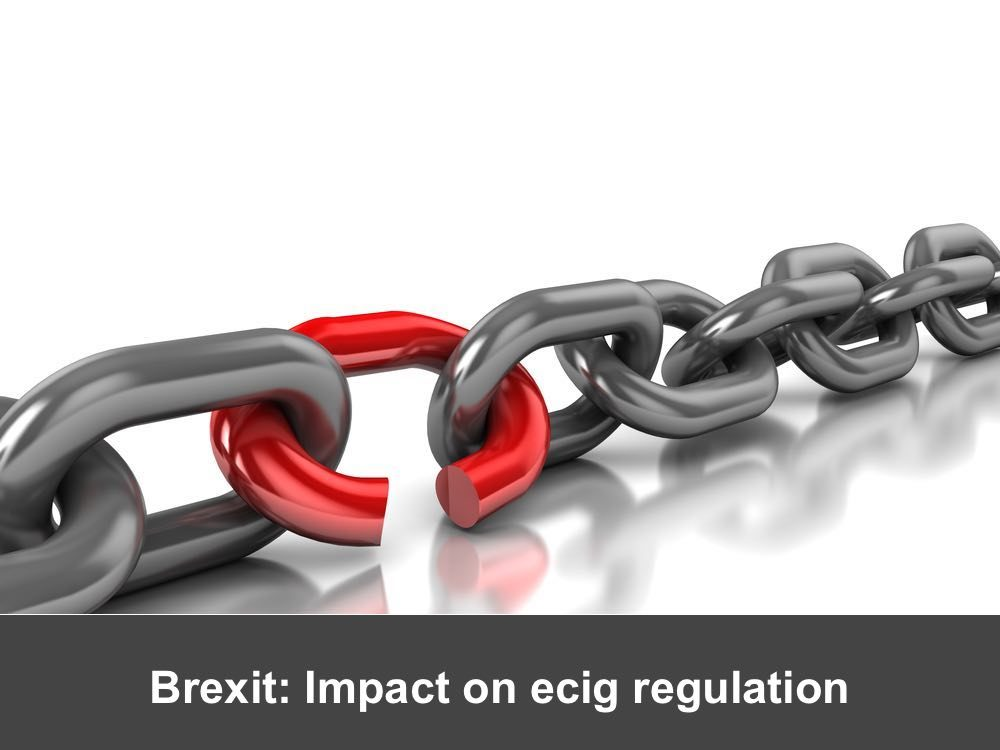 Impact of Brexit on ecig compliance