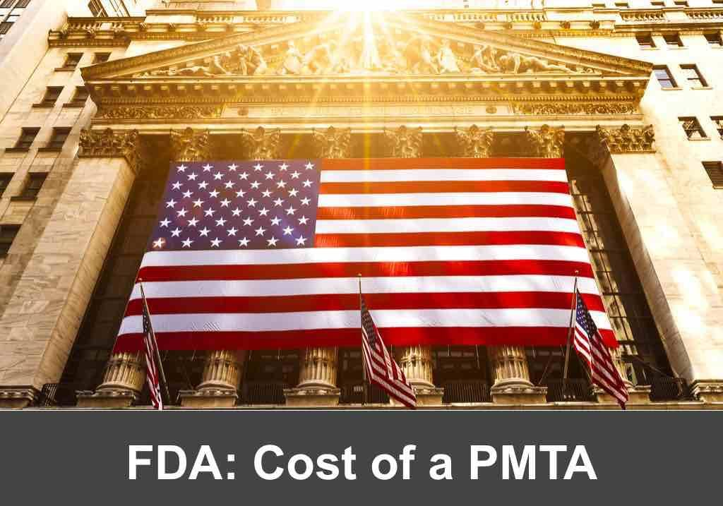 The Cost of an FDA PMTA